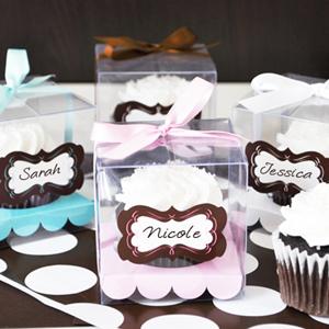 Cupcake In Personalizd Box Breezin