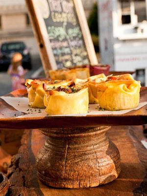 Savory cupcake