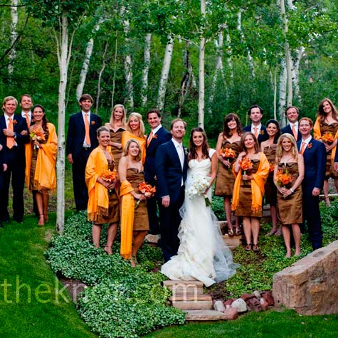 Breezin entertainment blog fall wedding color combinations junglespirit Gallery