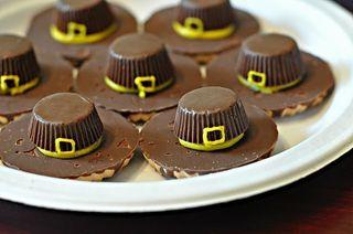 Tg pilgrim hat cookies